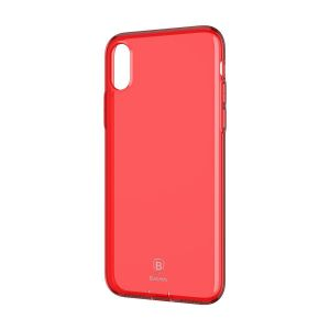 Etui Baseus Simple Series Case iPhone X / XS - czerwone