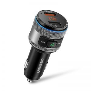 Transmiter FM UGREEN Bluetooth, QC 3.0, USB