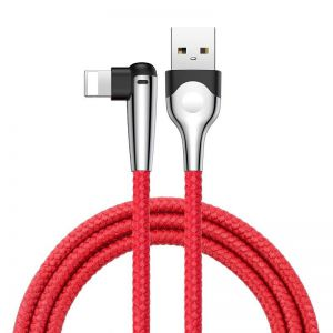 Kabel Baseus USB Type-A do Lightning MVP 2.4A 1M - czerwony