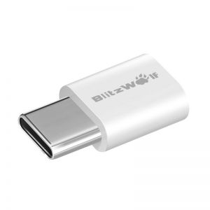 Adapter USB-C do Micro USB BlitzWolf BW-A2 2 sztuki