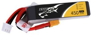 Akumulator Tattu 450mAh 7.4V 75C 2S1P Long XT30