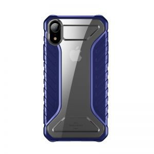 Odporne etui Baseus Michelin Case do iPhone XR (niebieskie)