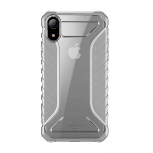 Odporne etui Baseus Michelin Case do iPhone XR (szare)