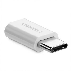 Adapter micro USB do USB-C 3.1 UGREEN (biały)
