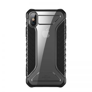 Odporne etui Baseus Michelin Case do iPhone XS Max (czarny)