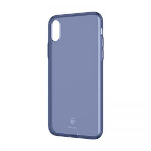 Etui Baseus Simple Series Case iPhone X / XS - niebieskie
